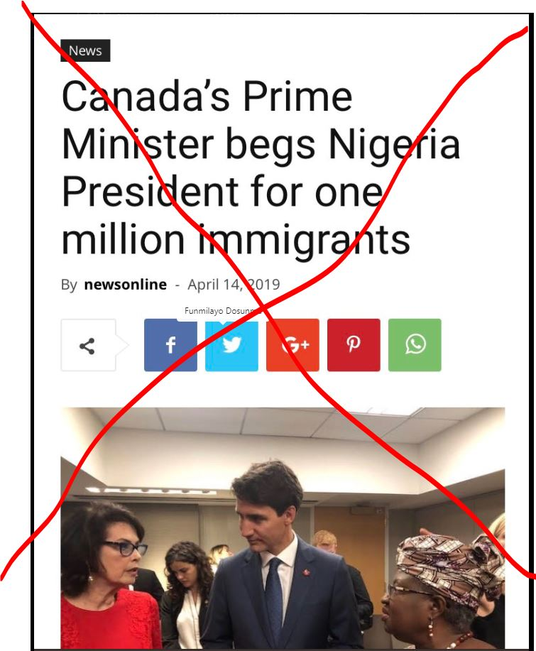 "D4Q289vW4AE5kyV - 'Shine your eyes"" We didn't beg Buhari for one million immigrants – Canada"