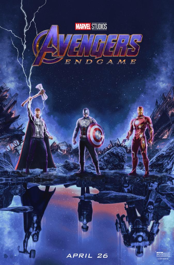 D4SkKQrWkAUf5o2 Vingadores: Ultimato | Thor, Capitão América e Homem de Ferro são destaque em novo pôster; Confira!