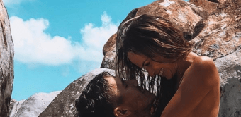 Brooks Koepka Shows Off His New Body With Topless Jena Sims On His Lap In The Virgin Islands