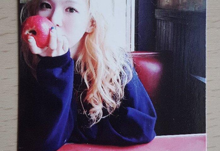 New Red Velvet Ice Cream Cake Photocard Wendy Tweet Added By