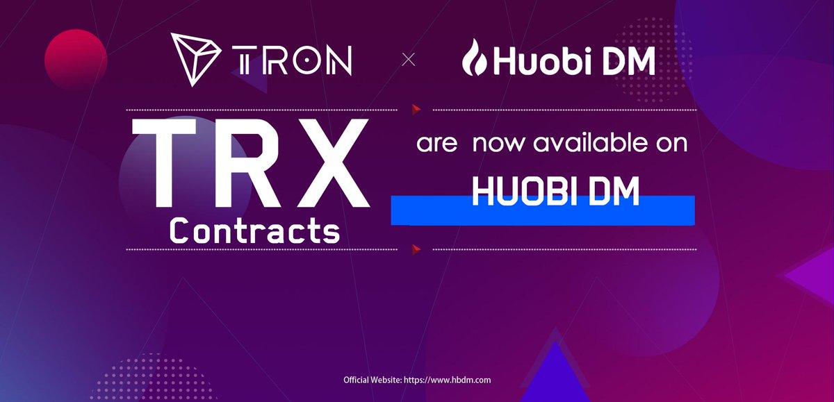test ツイッターメディア - #TRX コントラクトは@HuobiDMでご利用可能になります。@HuobiDMは暗号資産のデリバティブ市場の主要な取引プラットフォームです。#TRON $TRX https://t.co/OvjW6FcZ3X