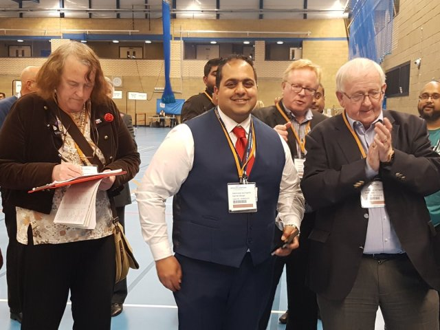 """Wolves Council on Twitter: """"The winner for East Park ward - Councillor Harman  Banger, Labour… """""""