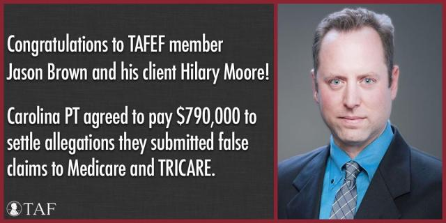 Image for the Tweet beginning: TAFEF member Jason Brown and