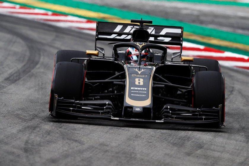 GP Spagna Haas