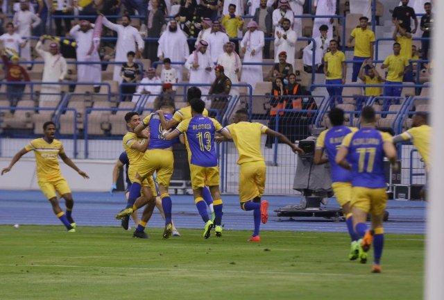 النصر يحسم لقب الدوري السعودي لصالحه للمرة الثامنة في تاريخه 25