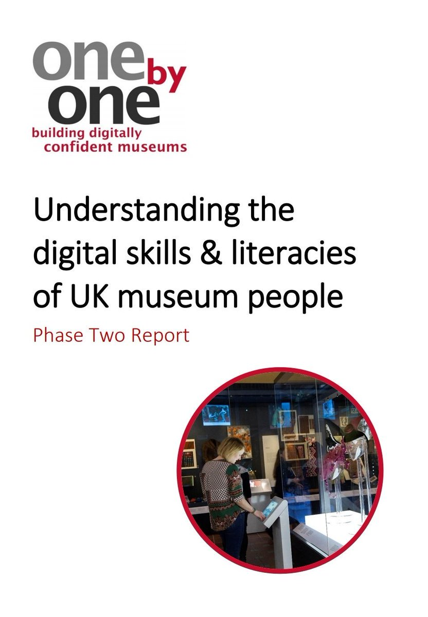 This is a great report. Well done everyone. I am very proud to say that the approach we have used for the last 16 years in skilling up our sector about #copyright and #GDPR #dataprotection encapsulates everything that the report advocates.