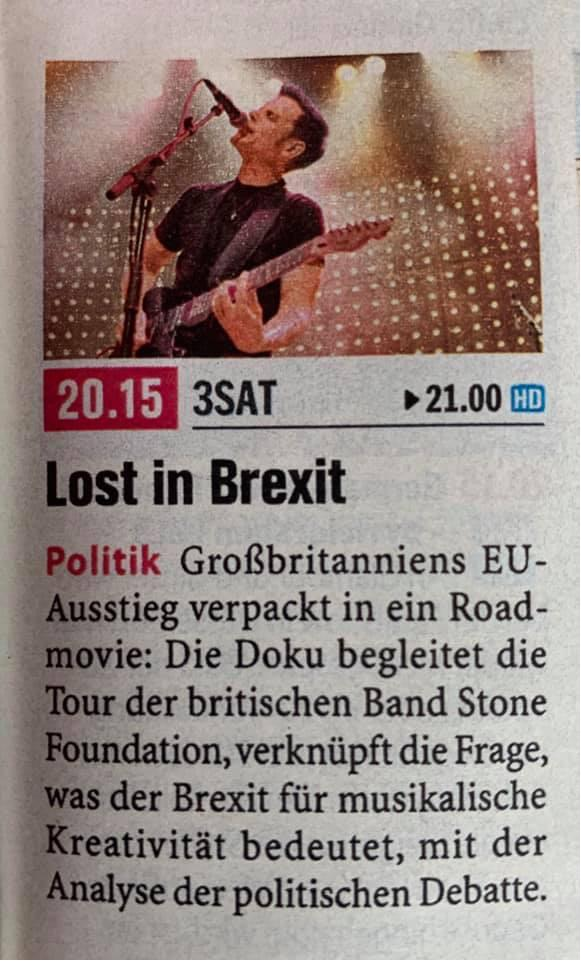 "test Twitter Media - now on @3sat tv | 8:15pm cet ""lost in brexit"" w/ @stonefoundation at the #mojoclub #europe   https://t.co/t20ICWggUG https://t.co/LES3jrLvqT"