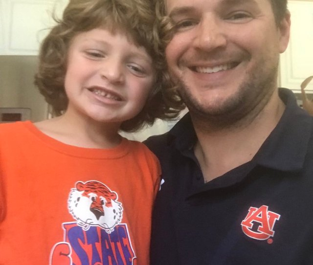 Wearing Our Auburn Gear In Memory Of The Voice Of The Tigers Rod Bramblett