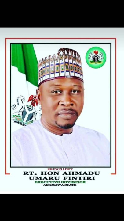 Ahmadu Umaru Fintiri is the current number one man in Adamawa