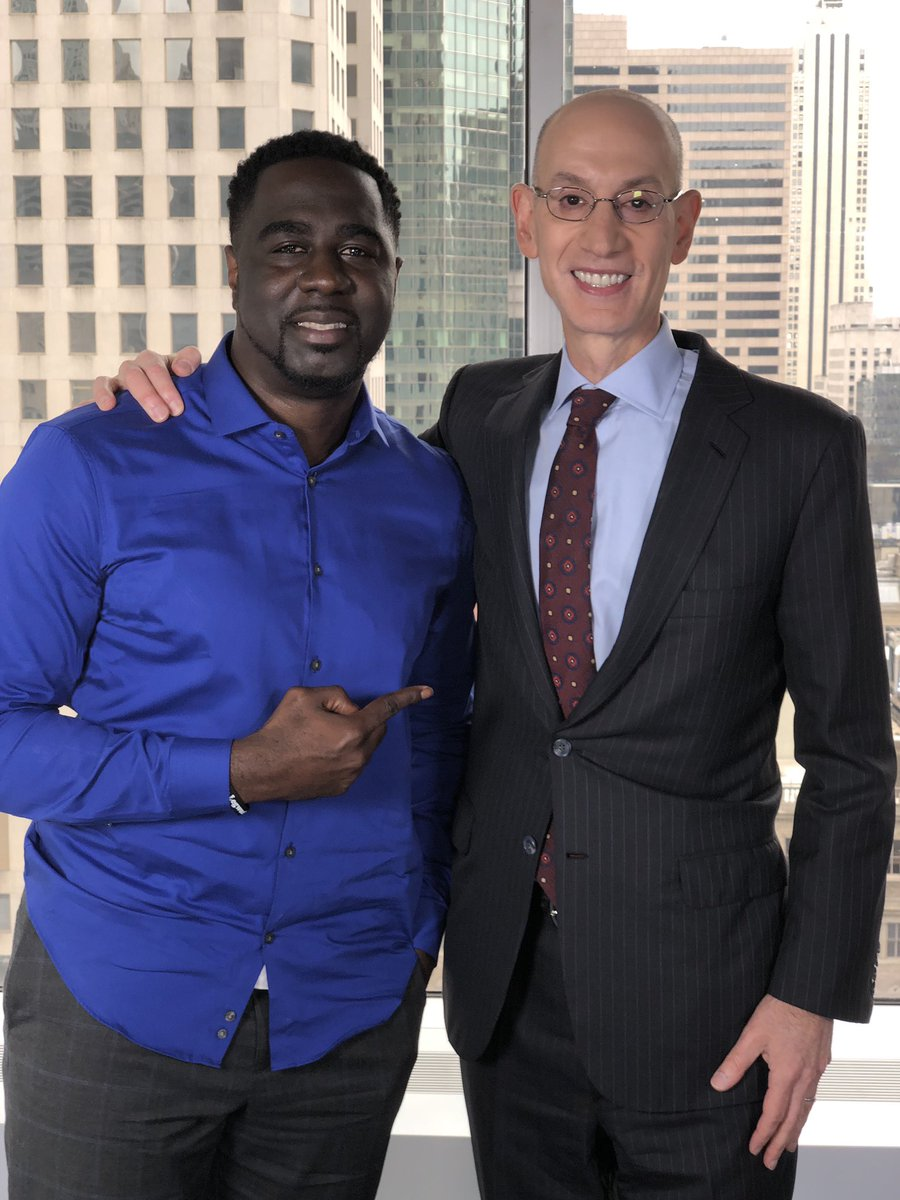 """Chris Haynes on Twitter: """"NBA commissioner Adam Silver is my next guest on the Posted Up with Chris Haynes Pod. Full episode drops Thursday morning.… https://t.co/9mi7qedLM9"""""""