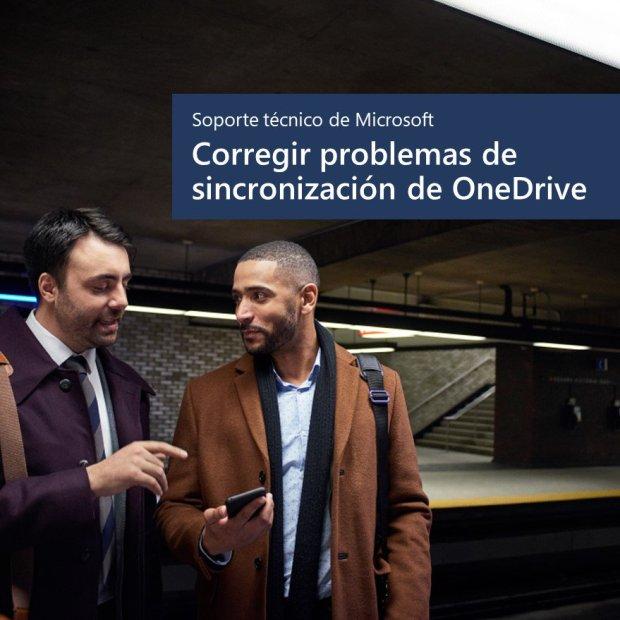 Soluciona los problemas de sincronización de OneDrive