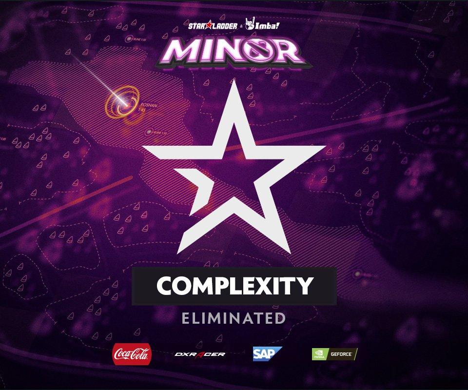 Hasil gambar Complexity Gaming StarLadder ImbaTV Dota 2 Minor S2