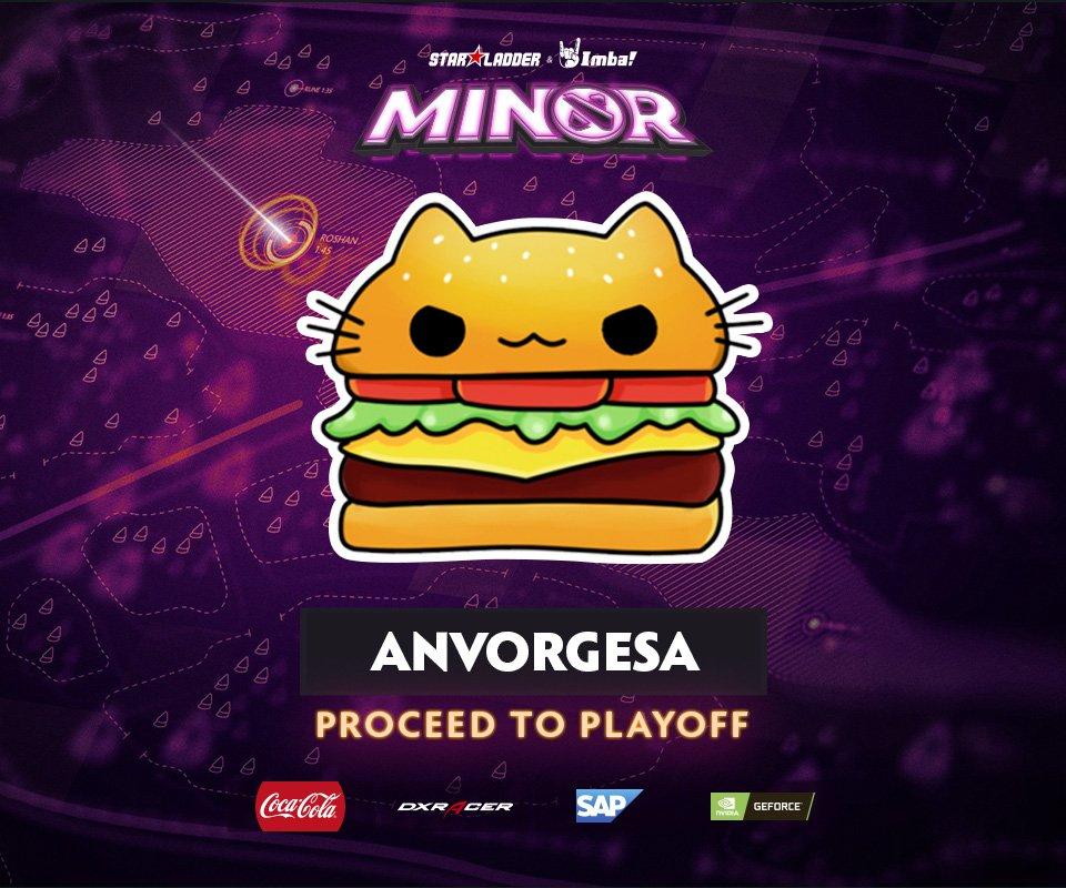 Hasil gambar untuk Team Anvorgesa StarLadder ImbaTV Dota 2 Minor S2