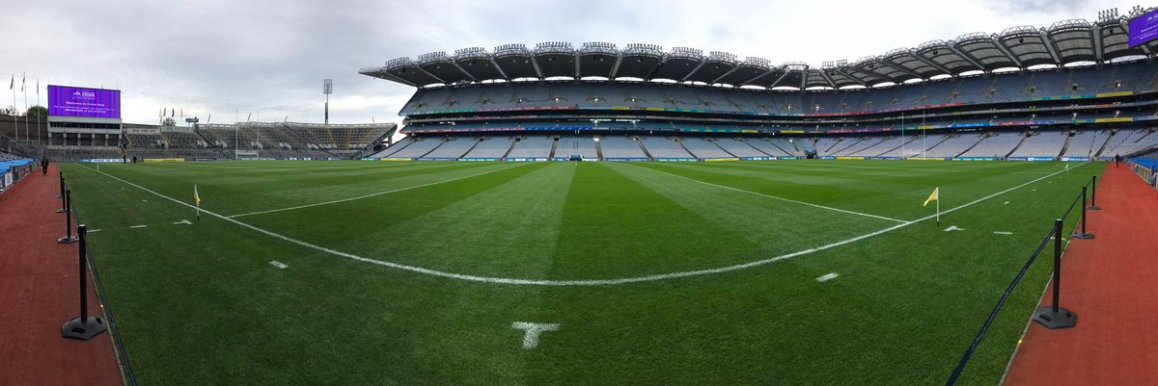 test Twitter Media - We are in Croke Park today for RTE getting ready for the Leinster Senior Football Final, It's Dublin v Meath throw in here is at 16.00 https://t.co/PUX2nvMnU9