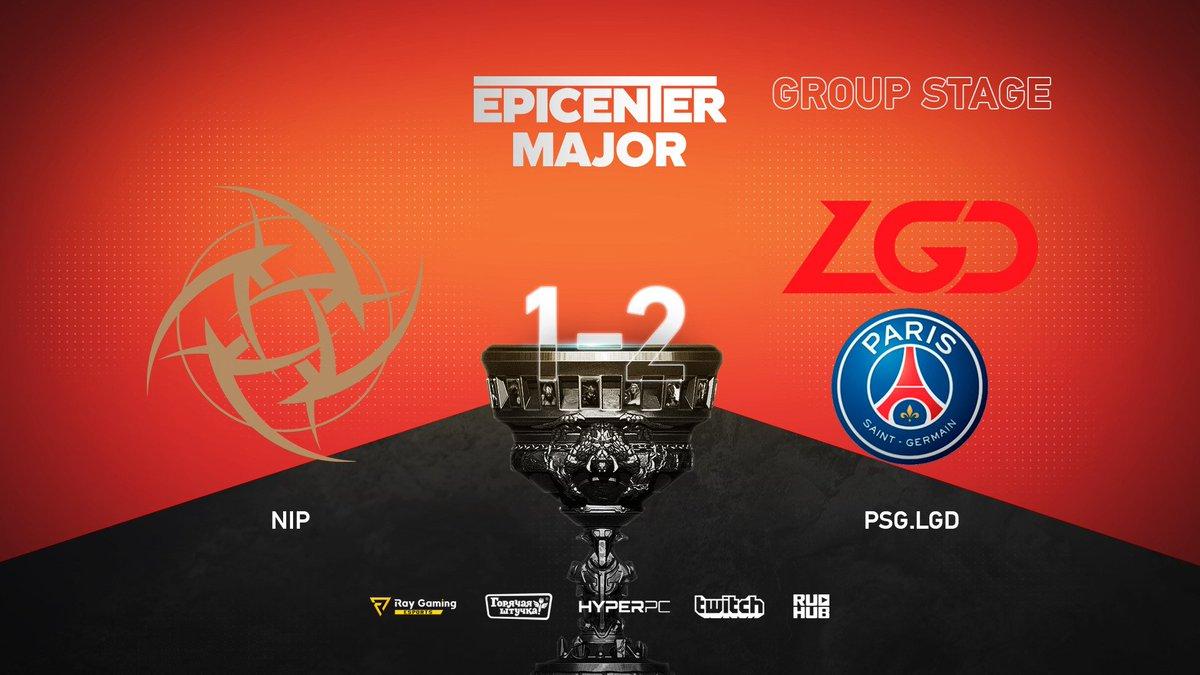 NiP vs PSG.LGD EPICENTER Major 2019