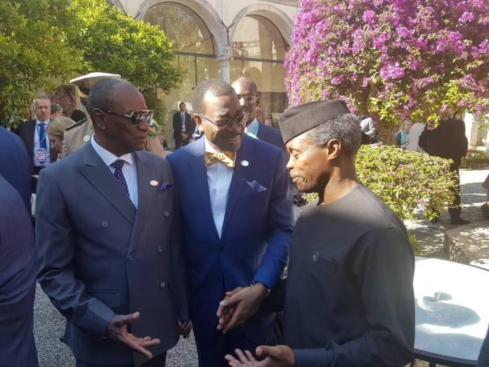 Acting President Yemi Osibanjo