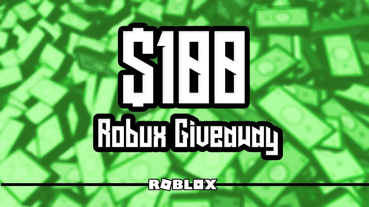 Roblox Account Giveaway