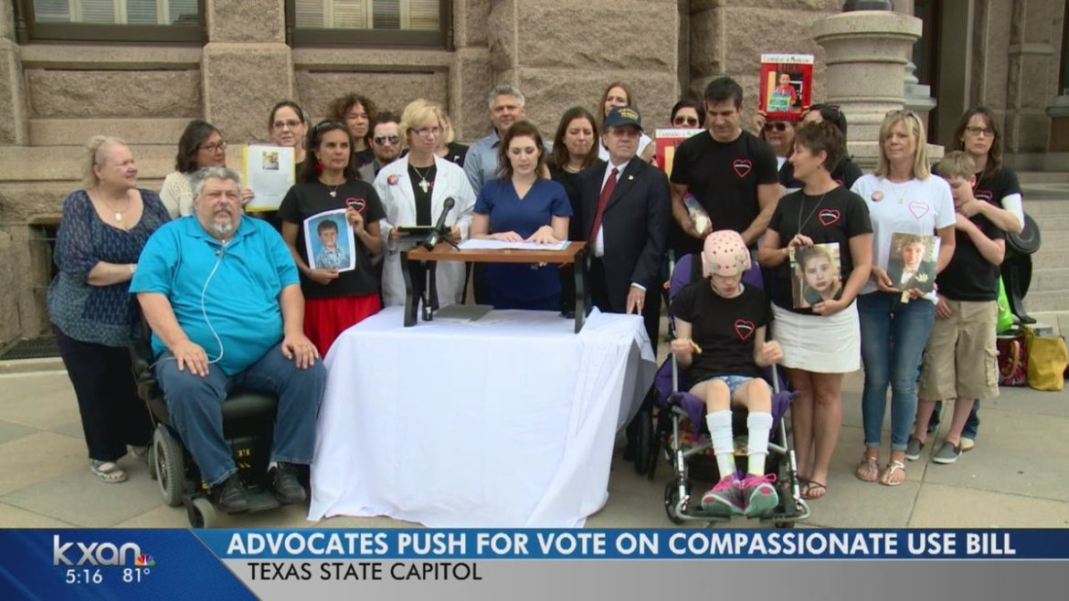 Group Gathers at Texas State Capitol to Push for #MMJ Legislation
