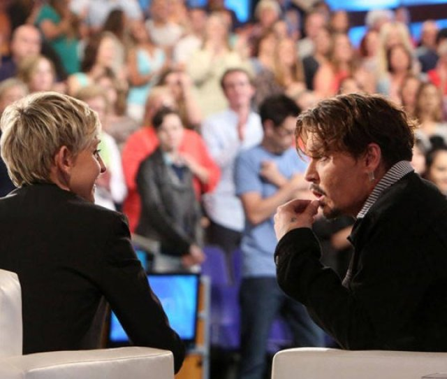 Leave It To Johnny Depp To Give The Most Eccentric Answers When Ellen Asks A Series