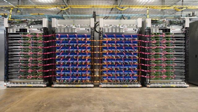 Google brings 45 teraflops tensor flow processors to its compute cloud  #ai