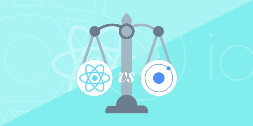 Building an app: React Native vs #Ionic  #ReactJS #JavaScript