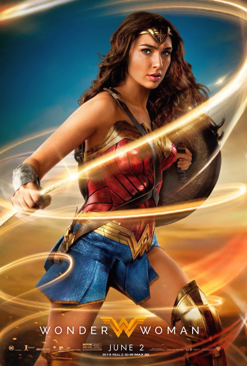 New Wonder Woman Posters & Banner Revealed
