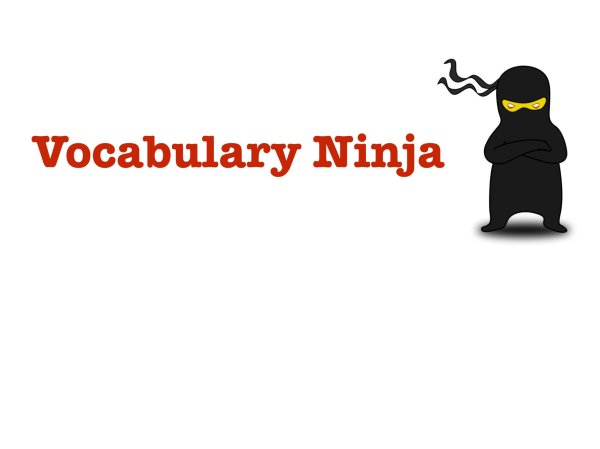 "Vocabulary Ninja on Twitter: ""A special synonym resource ..."