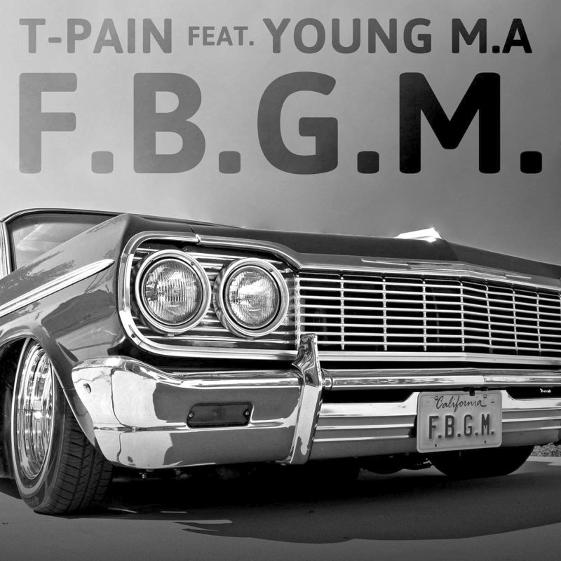 T-Pain – F.B.G.M. Lyrics ft. Young M.A