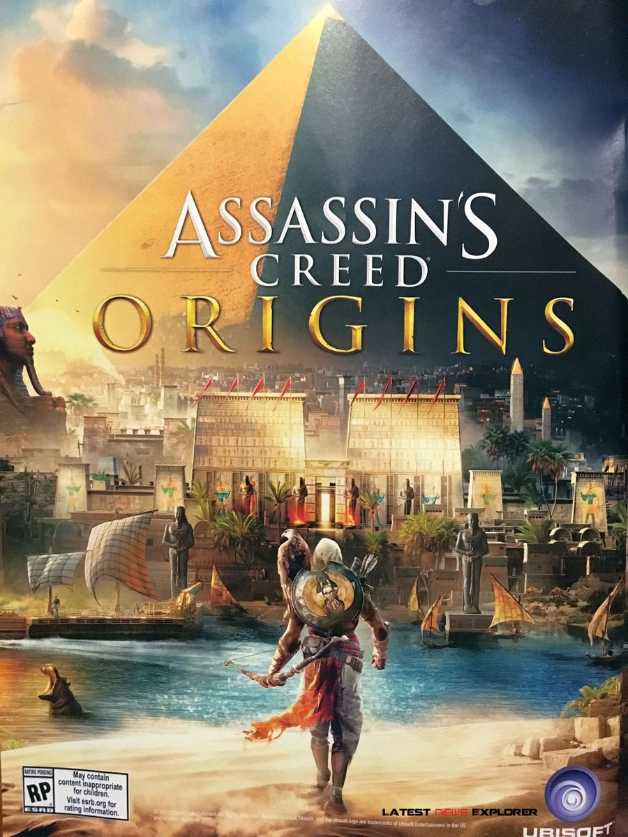 Assassin's Creed Origins Cover Art & New Details Leaked