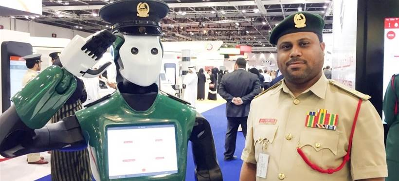 INFORMATION AGE: RoboCop on the beat   #Dubai #AI @AtticusIndepand