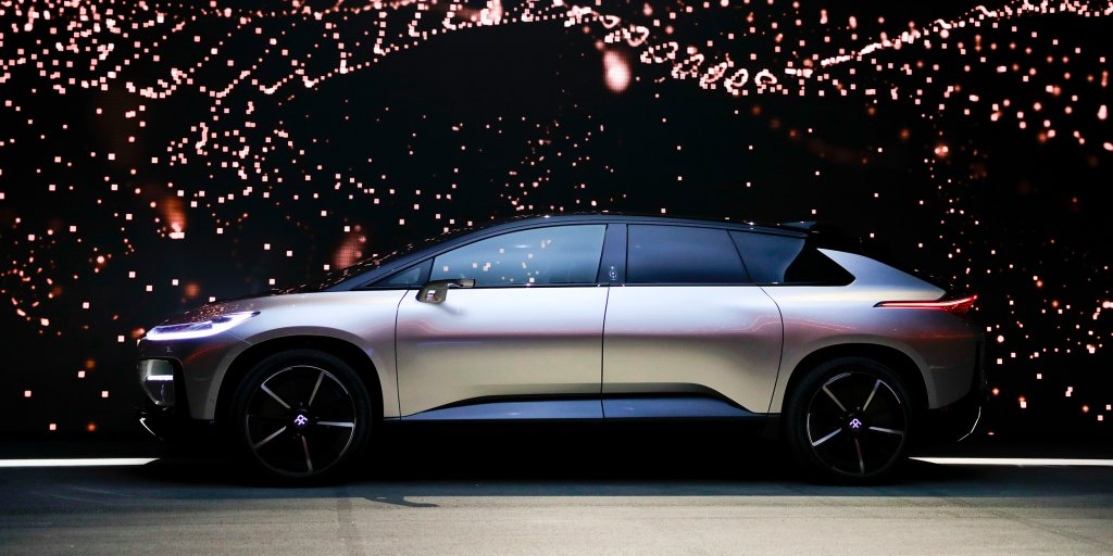Faraday Future is looking for $1 billion to fund major turnaround