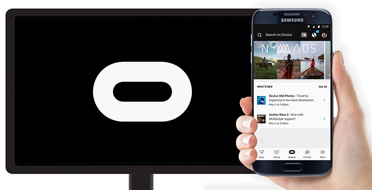 Oculus adds Chromecast streaming support for the Gear VR