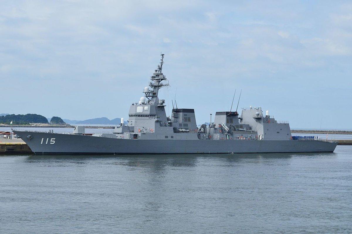 test ツイッターメディア - あきづき型護衛艦/日本/DD(護衛艦)建造目的がイージスシステム使用中のイージス艦の護衛とかんにゃぴ・・・良く分かんなかったです・・・(無知)対空以外の性能も高く、むらさめ型DDの後継艦のタイシップになるのではと噂されているhttps://t.co/hwNbg6FdRn