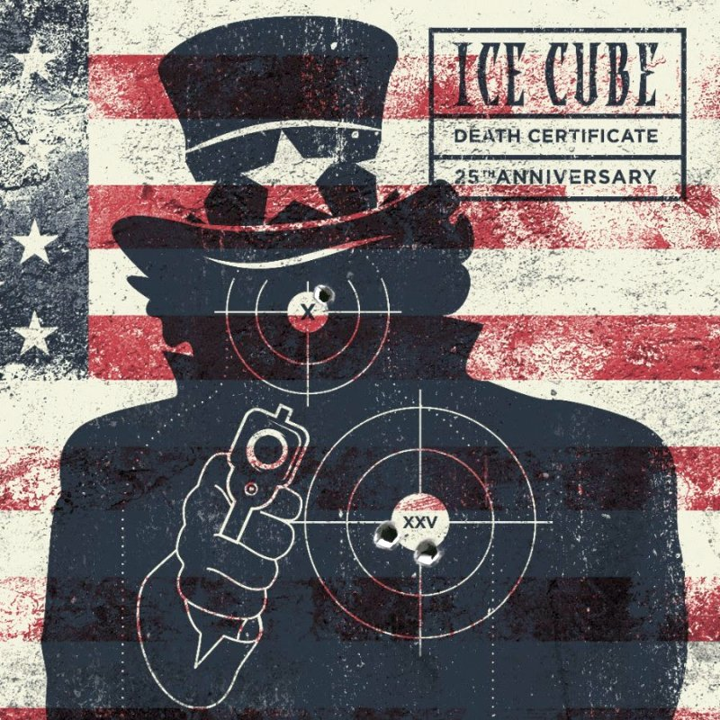 Ice Cube Death Certificate 25th Anniversary Tracklist & Artwork