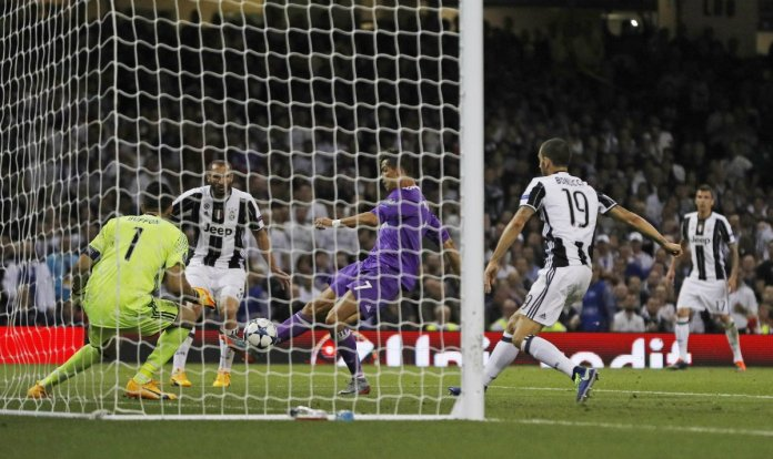 Gol Ronaldo Real Madrid vs Juventus 2017
