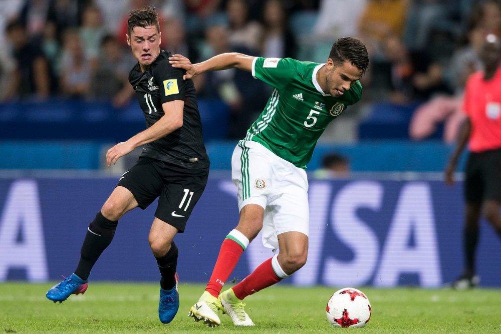 México vs Nueva Zelanda.