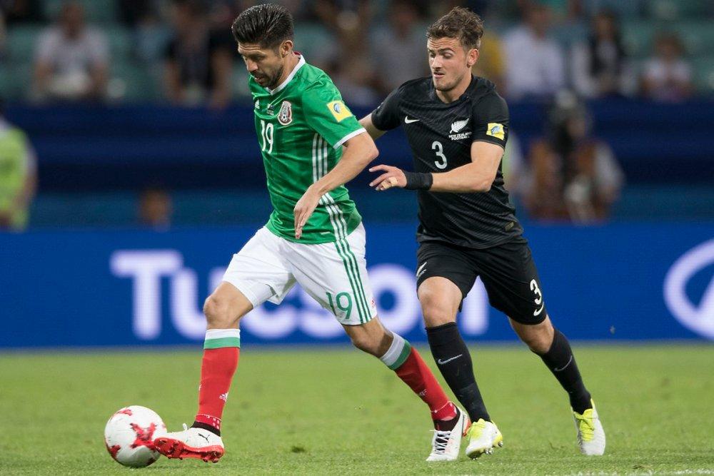 Goles de México Copa Confederaciones 2017