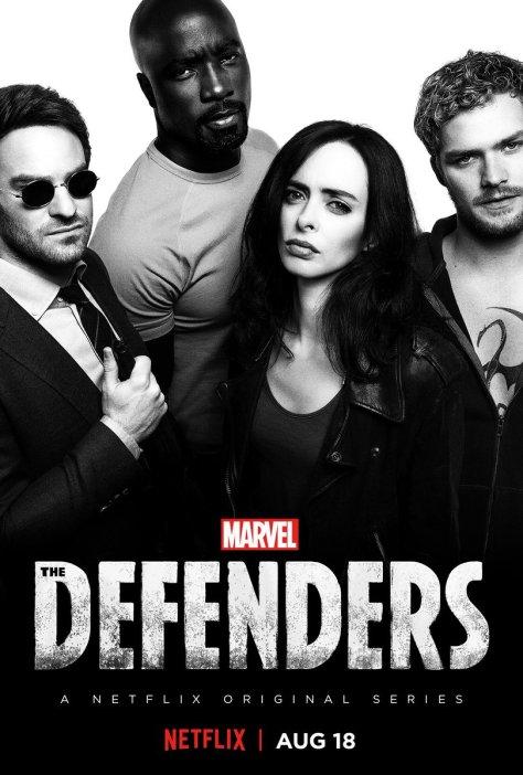 Algemene Defenders op Netflix België poster