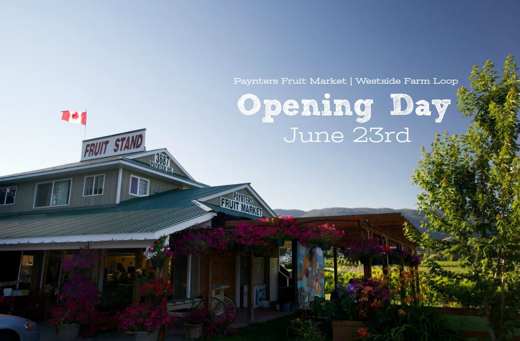 test Twitter Media - Opening day for @PayntersMarket is tomorrow! They will be opening daily from 8am-8pm. #Okanagan @TheFarmLoop https://t.co/qz81fxNCuO