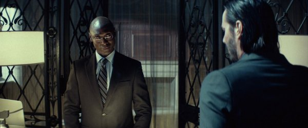 Lance Reddick & Keanu Reeves in The Continental