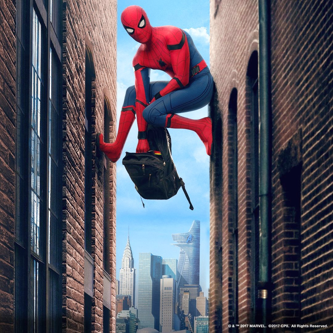 Spider-Man: Homecoming Promotional Photo