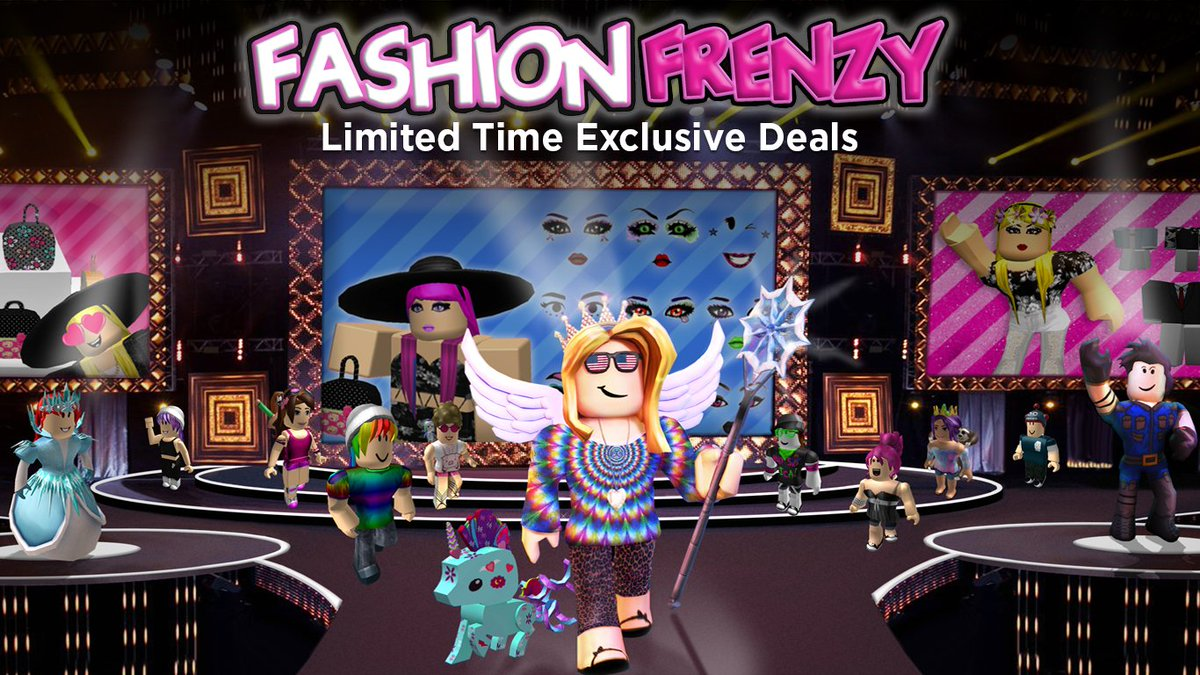 Roblox on Twitter   Fashion Frenzy has a one size fits all sale on     Roblox on Twitter   Fashion Frenzy has a one size fits all sale on  amazon    other platforms  Get discounts on  Roblox items NOW   https   t co fUeKzsSuq1