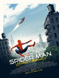 Spider-Man & Iron Man in Spider-Man: Homecoming poster