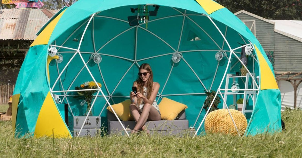 World's first #4G-connected smart tent pitches up at #Glastonbury Festival  #IoT