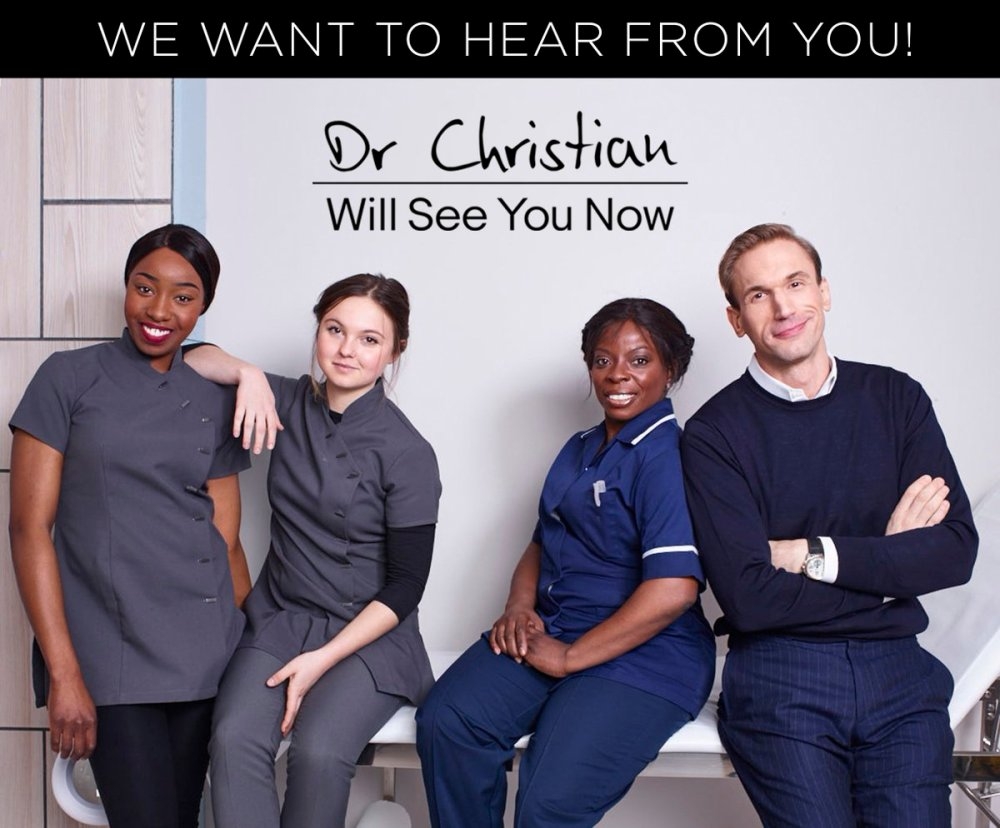 Dr. Christian Will See You Now