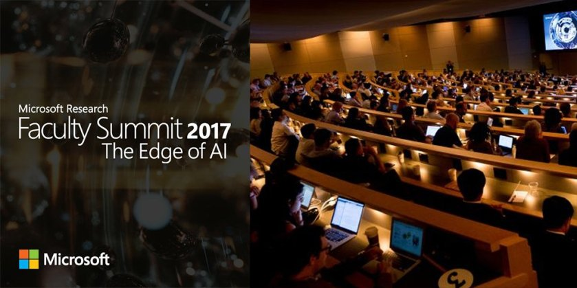 Join us July 17 & 18 for Faculty Summit 2017 - The Edge of #AI