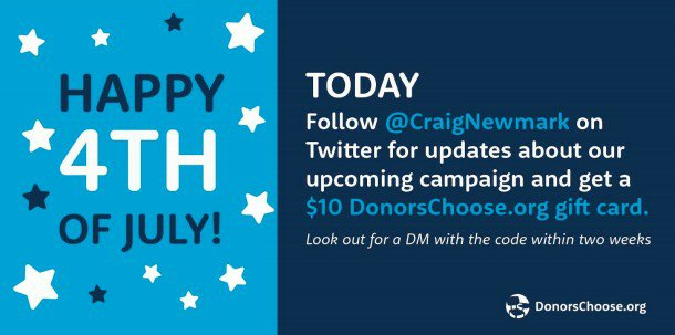 Why @CraigNewmark is Supporting Military Families, Their Kids, And Teachers #4thofJuly