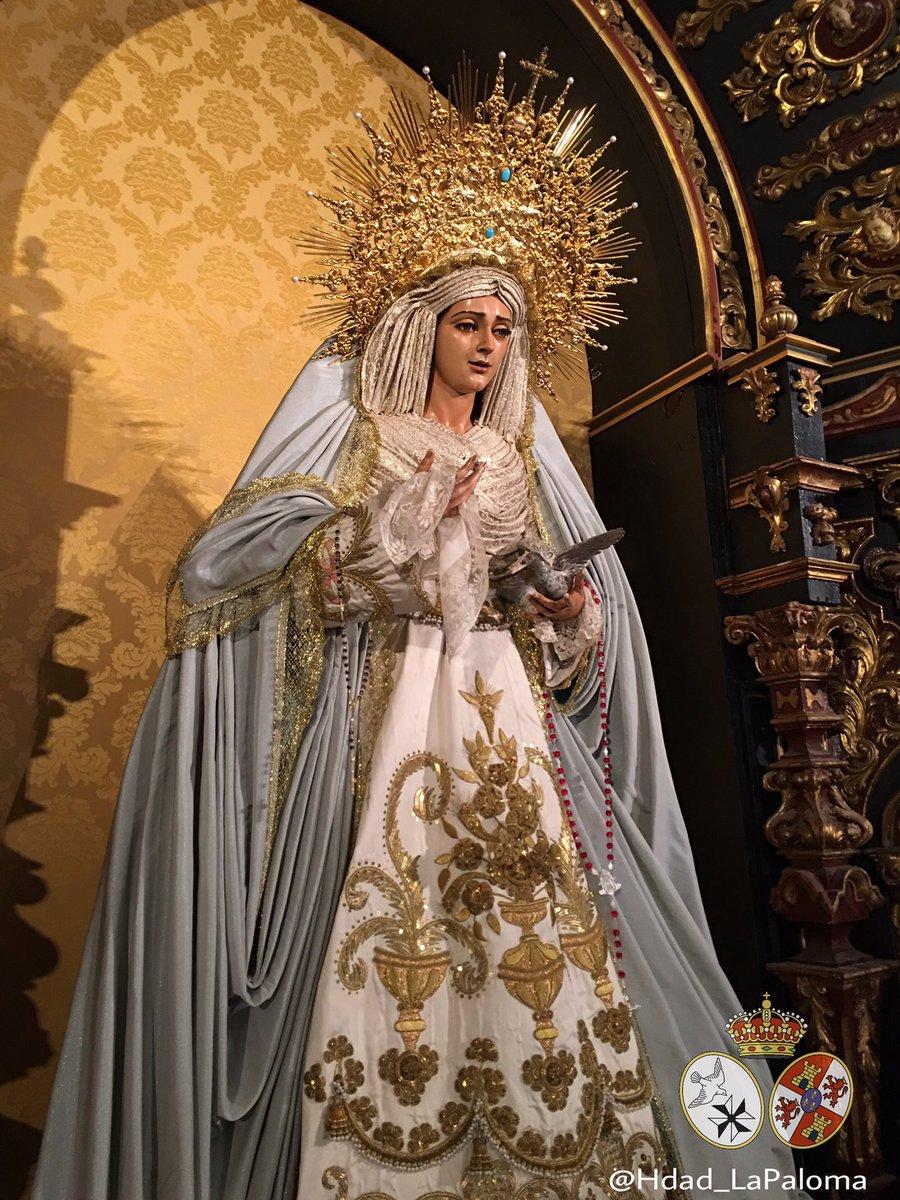 Hdad De La Paloma On Twitter Quot Amanece La Virgen De La