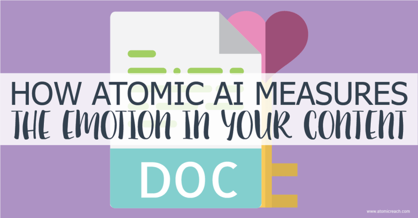 How Atomic #AI Measures The Emotion In Your #Content - by @suhash_talwar @atomic_reach