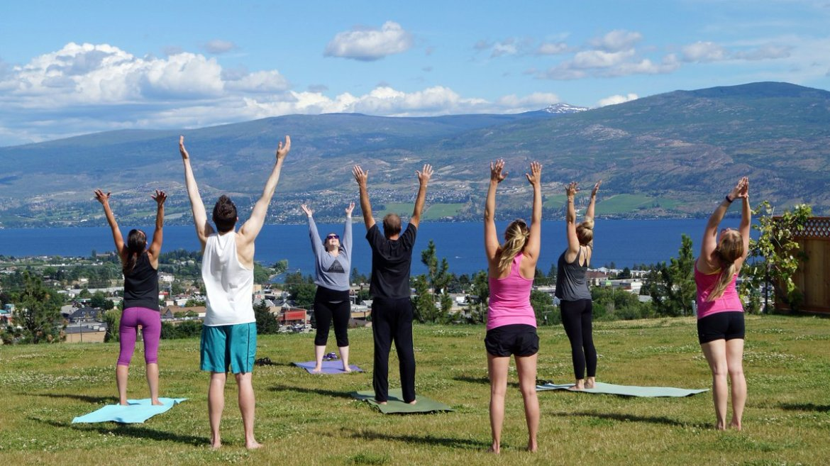 test Twitter Media - Rise and shine it is yoga time! Off the Grid Organic Winery has drop in yoga each Sunday from 10-11. $10. https://t.co/8wRKq7JvQH